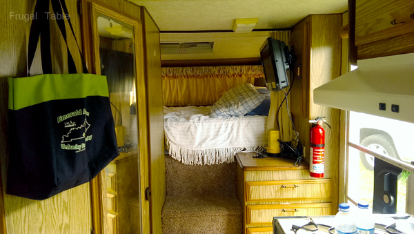 Camper bedroom