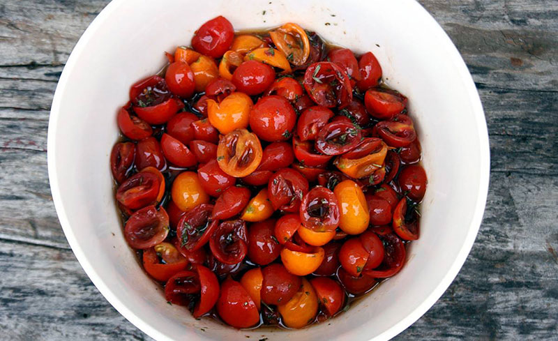 Balsamic Cherry Tomatoes